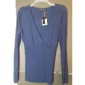 The Limited Sweater/Cardigan Blue Size L NWT